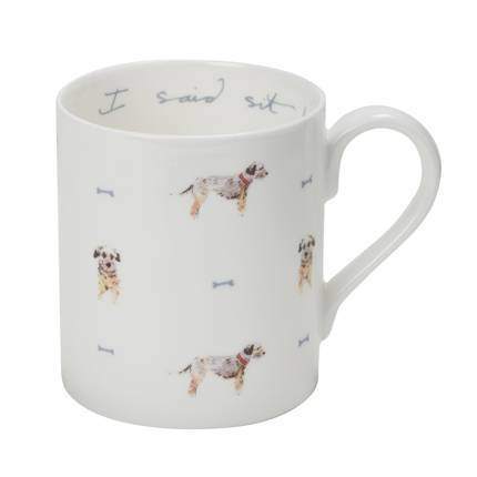 Mug - 'I Said Sit!' Terrier