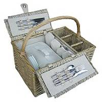 4-Person Antique Wash Hamper